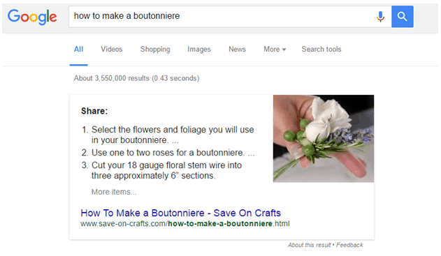 Tutorial on how to make a boutonniere